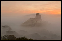 Corfe in the Fog